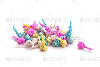 firecracker paper balls