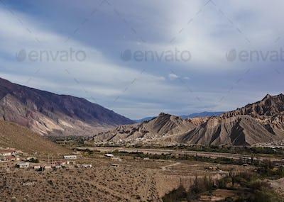 Mountains in Tilcara, Argentina
