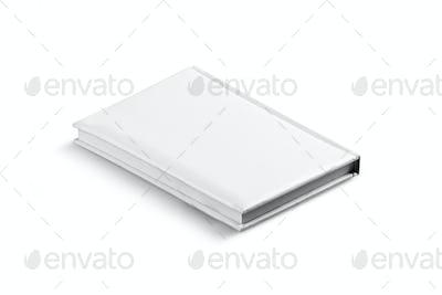 White Leather Agenda Isolated.