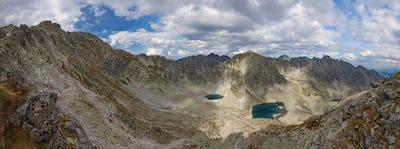 Photo of Vysne Wahlenbergovo pleso lake in High Tatra Mountains, Slovakia, Europe