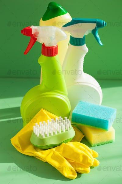 cleaning items household spray brush sponge glove