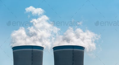 cooling tower closeup
