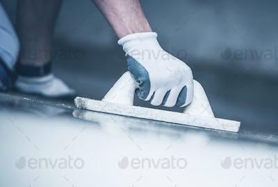 Finishing Concrete Floor