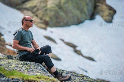 Hiking Nature Photographer