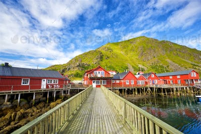 Traditional Lofoten houses