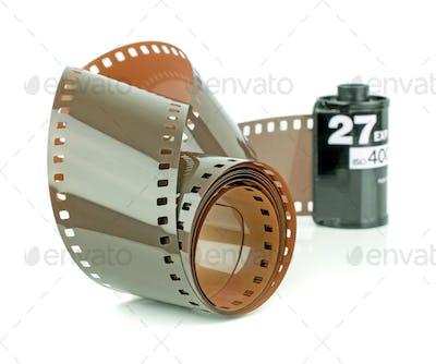 A Roll of 35mm Camera Film