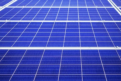 surface of solar panel