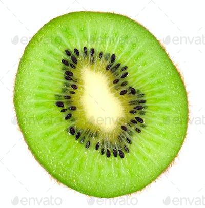 Beautiful slice  kiwi