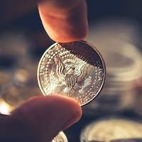 Silver American Half Dollar