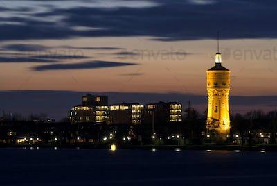 Water tower Zwijndrecht