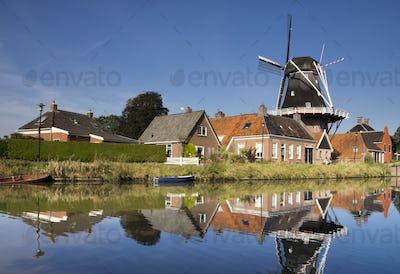 The Hunsingo windmill in Onderdendam