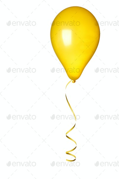yellow ballon