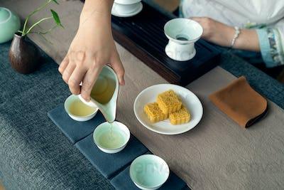 the Chinese tea ceremony