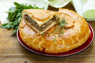Homemade Meat Pie