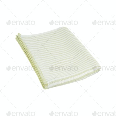 towel isolated on white background