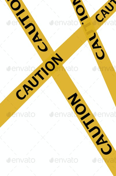 caution ribbons