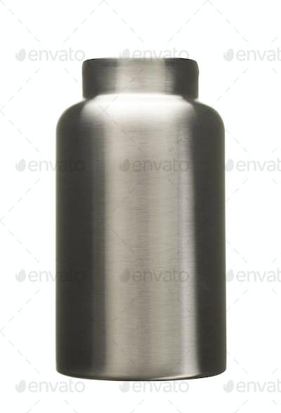 empty metal bottle