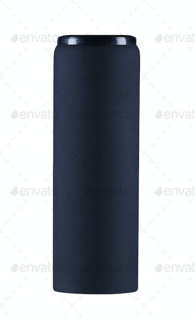 modern thermos isolated