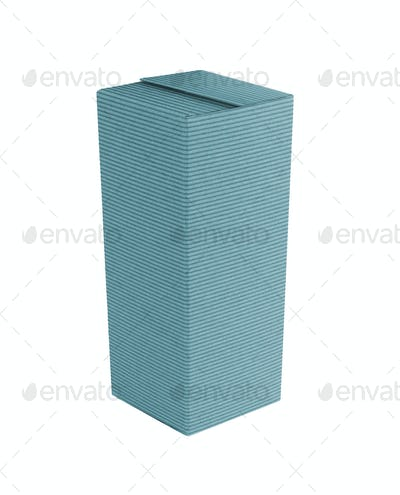 Package Box isolated