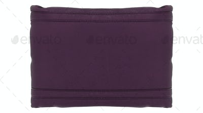Clutch bag isolated