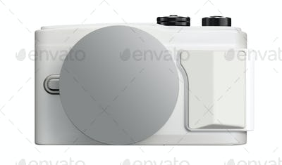 camera isolated on white