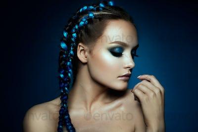 Fantasy Girl. Mermaid.