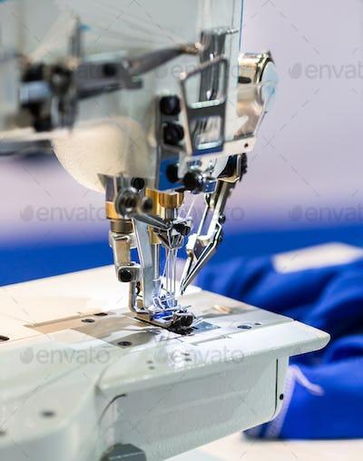 Sewing machines, nobody, dressmaker equipment