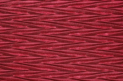 red fabric ripples