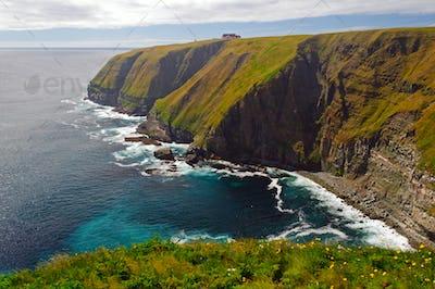 Dramatic Coast of Saint Mary's Cape