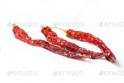 dryed red chilli peppers