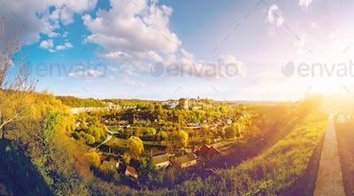 Kamianets Podilskyi cityscape