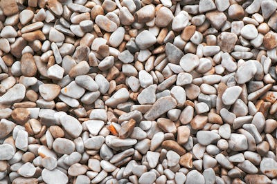 Natural abstract pebbles background