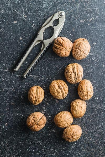 Tasty dried walnuts.