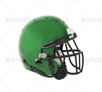 Football Helmet isolated on white