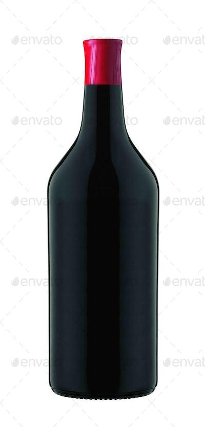 Wine isolated