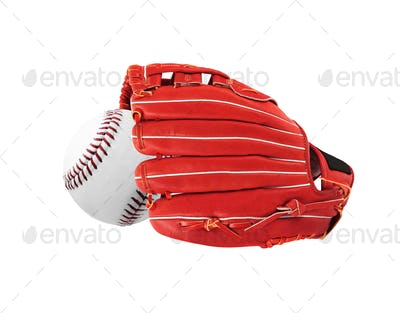 Glove isolated