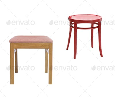Stools isolated