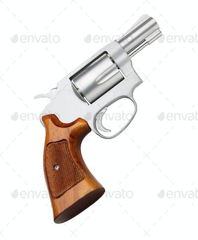 Pistol isolated