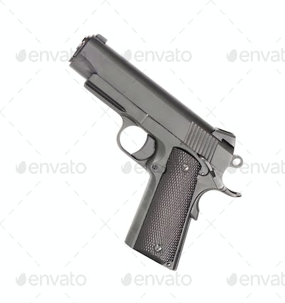 Pistol isolated