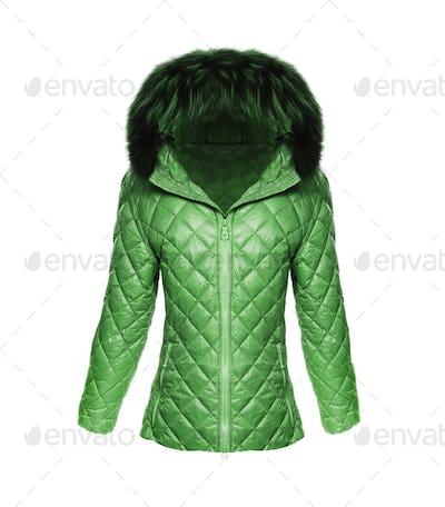 Jacket Female isolated