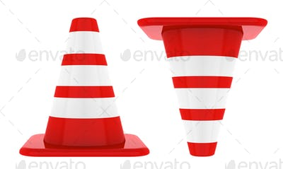 Cones isolated