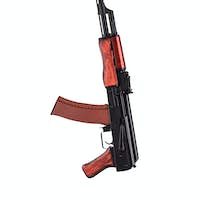 AK 47 isolated
