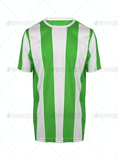 striped shirt isolated