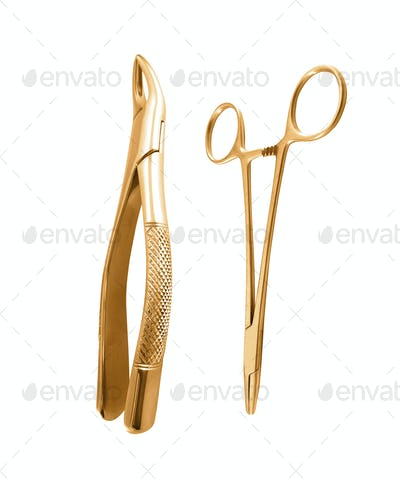 Surgical instruments isolated