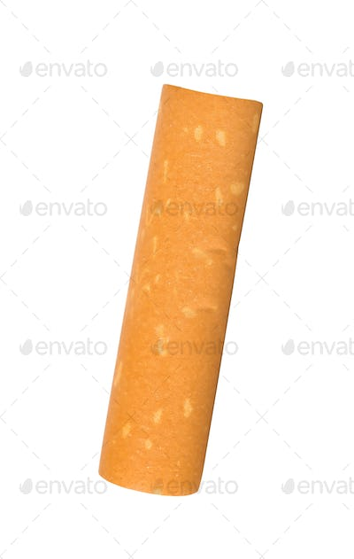 cigarette filter isolated