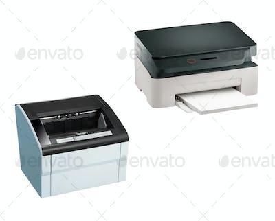 Printer scaner isolated