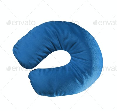 neck pillow isolated