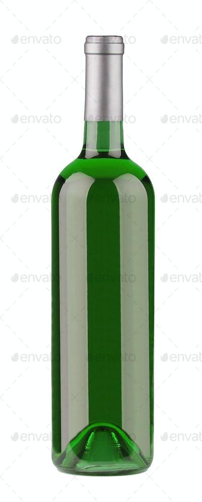 Bottle of Wine isolated