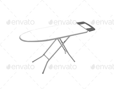 ironing board isolated