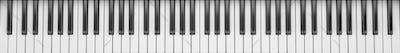 Dark Gray Synthesizer close up